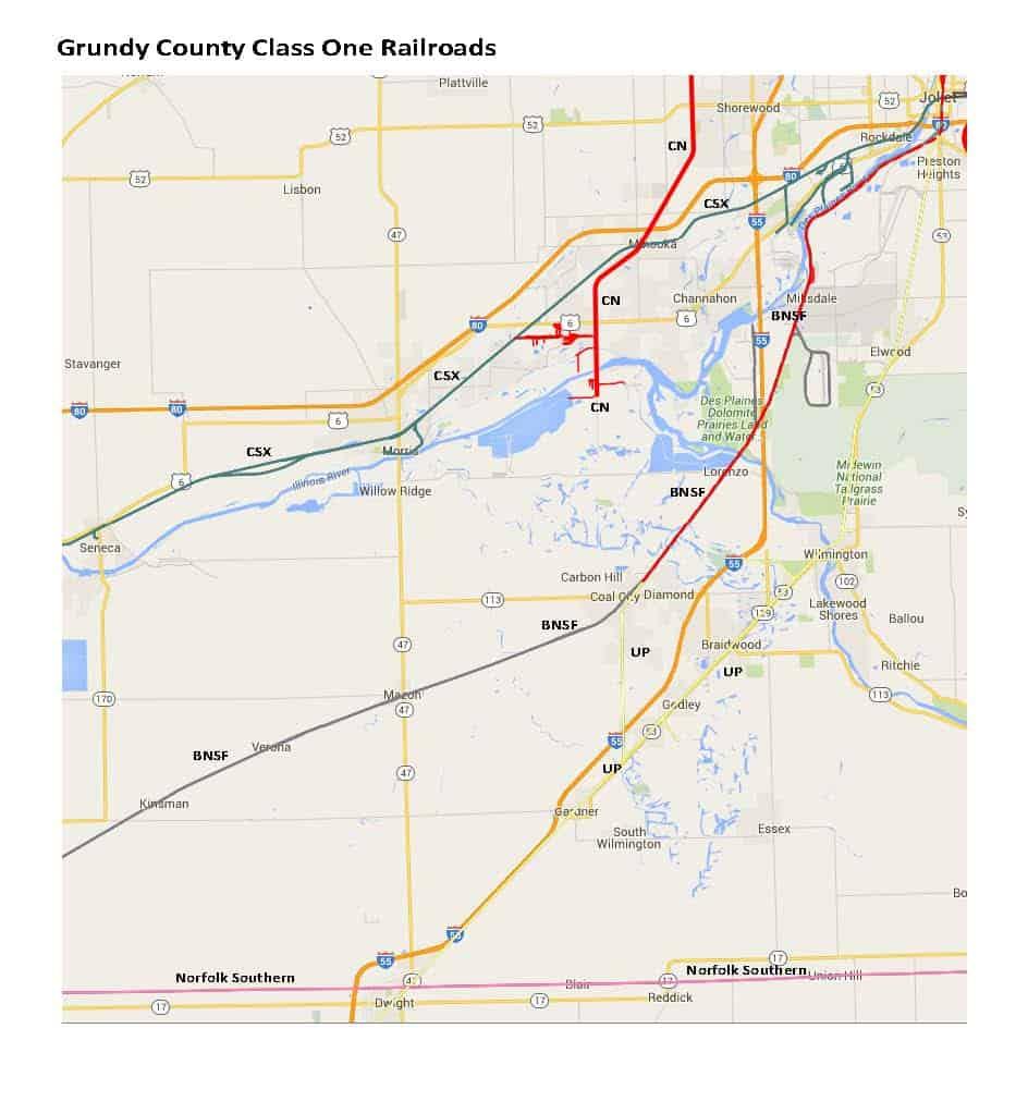 Railroads-Map